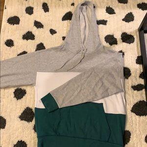 AEO colorblock hoodie